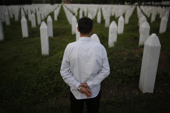 Au Mémorial du massacre de Srebrenica, le 27juin.