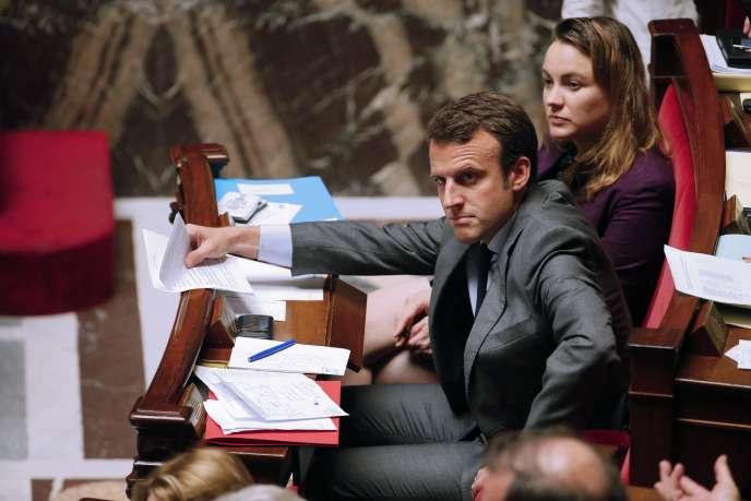 Emmanuel Macron, à l'Assemblée nationale, le 8 juillet.