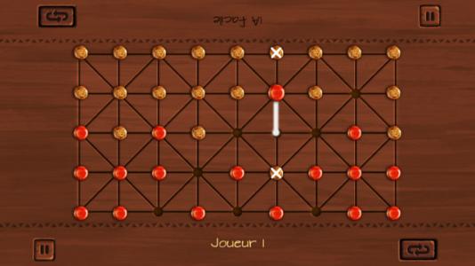 E-fanorona est basé sur un jeu de plateau traditionnel malgache. Ses règles sont déjà fixées, et la technique nécessaire modeste, deux arguments de poids pour une industrie balbutiante.