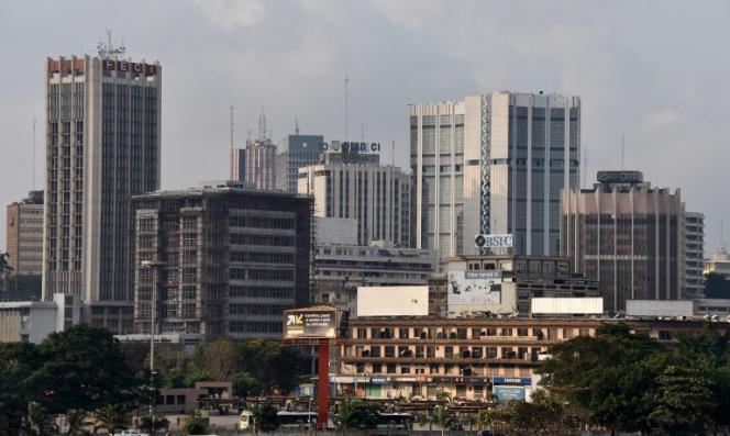 Le quartier du Plateau à Abidjan, en 2014.