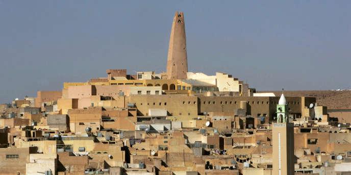 La ville de Ghardaia en Algérie, le 27 décembre 2008.