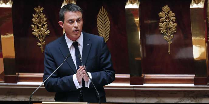 Manuel Valls, le 8juillet à l'Assemblée nationale.