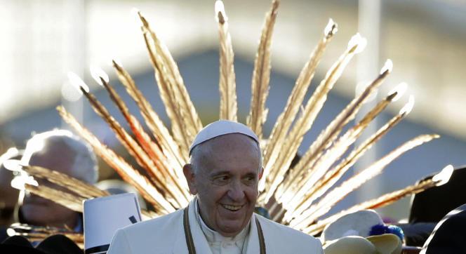 Le pape François a entrepris un voyage en Amérique du Sud du 5 juillet au 12 juillet (Equateur, Bolivie et Paraguay).
