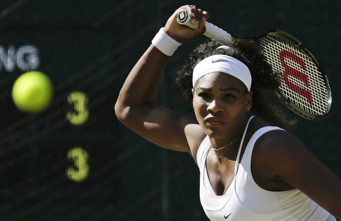 Serena Williams, le 9 juillet, à Londres.
