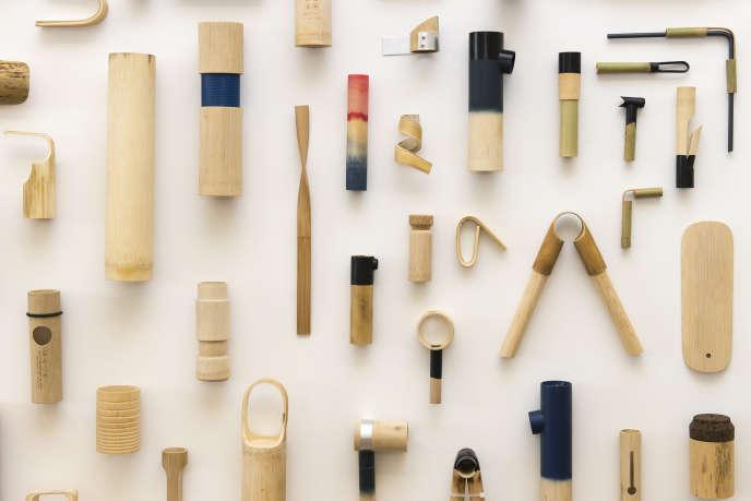 Les pièces en bambou de Samy Rio, Grand Prix Design Parade 2015.