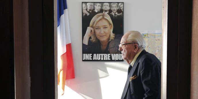 Jean-Marie Le Pen, le 12 janvier à Agen.
