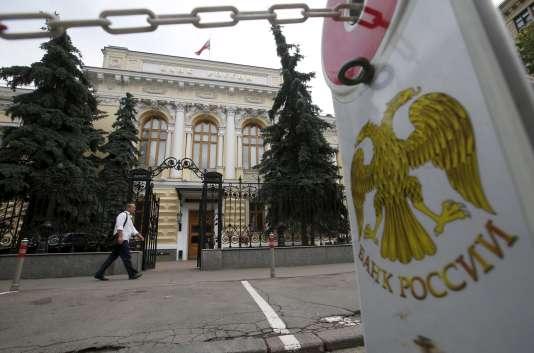 La Banque centrale de Russie continue de purger son système bancaire.
