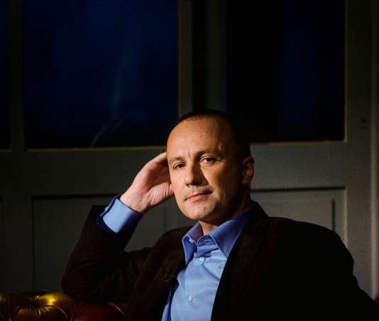 """Dominique Rizet, journaliste pour """"Faites entrer l'accusé"""" sur France 2, est aussi le spécialiste des faits divers sur BFM-TV."""