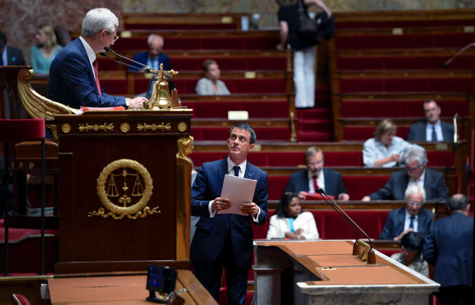 Discours de Manuel Valls sur la Grèce, le 8 juillet 2015, à l'Assemblée.