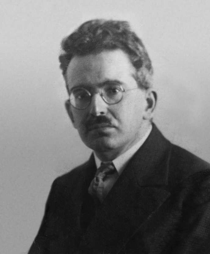 Walter Benjamin, vers 1928.