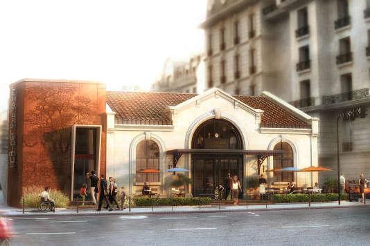 Une nouvelle vie pour la gare de saint ouen - Porte saint ouen ...