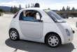La voiture sans conducteur de Google.