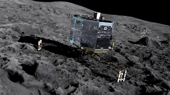 En juin, le robot Philae s'etait réveillé après sept mois d'hibernation.