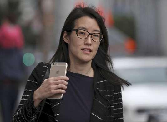 La désormais ex-PDG de Reddit, Ellen Pao, ici en mars à San Francisco.