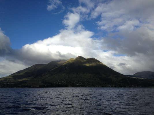 Le volcan Guagua Pichincha, en Equateur.