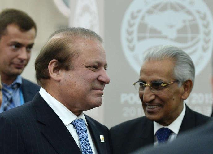 Le premier ministre de Pakistan, Muhammad Nawaz Sharif le 10 juillet 2015.