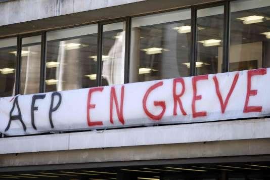 A la veille d'un comité d'entreprise extraordinaire, quatre syndicat de l'Agence France-Presse vont appeler mercredi après-midi à une nouvelle grève de 24 heures.
