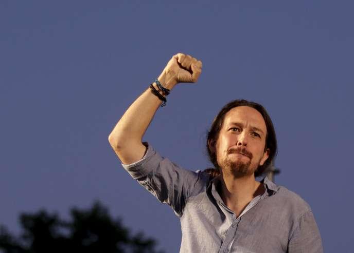 Pablo Iglesias, le 11 juillet à Madrid.
