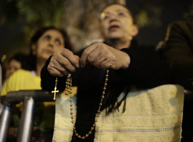Au Paraguay lors de la visite du pape François, vendredi 10 juillet.