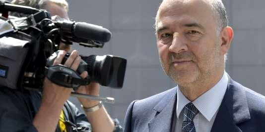 Le commissaire européen aux affaires économiques Pierre Moscovici à Bruxelles le 11 juillet