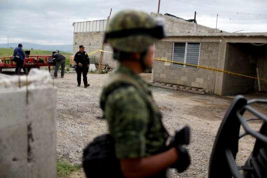 Joaquin « El Chapo » Guzman est parvenu à s'échapper d'une prison de haute sécurité pour la deuxième fois en 14 ans, en passant par un tunnel qui a débouché dans ce local.