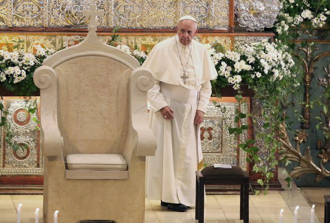 Le pape François au deuxième jour de sa visite au Paraguay.