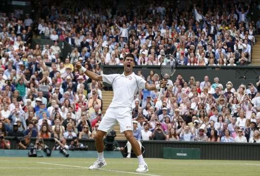 Le serbe Novak Djokovic, vainqueur de l'édition 2015 du tournoi londonien.