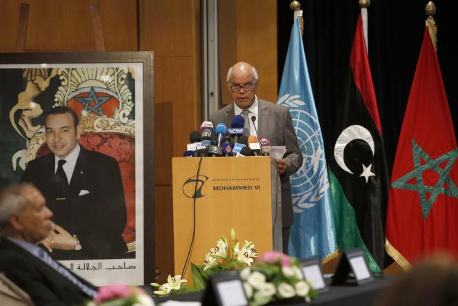 Proposé par l'ONU, l'accord « de paix et de réconciliation » a été paraphé au Maroc par une partie des belligérants du conflit en Libye, samedi 11 juillet.