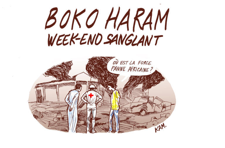 """Le week-end sanglant de Boko Haram"", vu par Kam"
