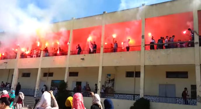 Au lycée Tarik Ibn Ziad de Baraki, en mai 2014.