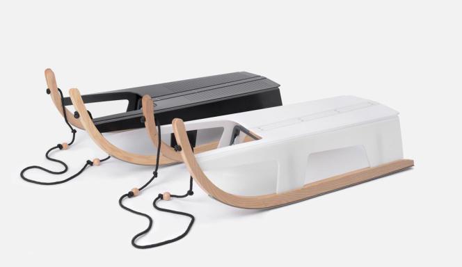 Luge pliable éco-conçue par Max Frommeld & Arno Mathies, double mention spéciale du Jury Design Parade 2015 et de Eyes on Talent.