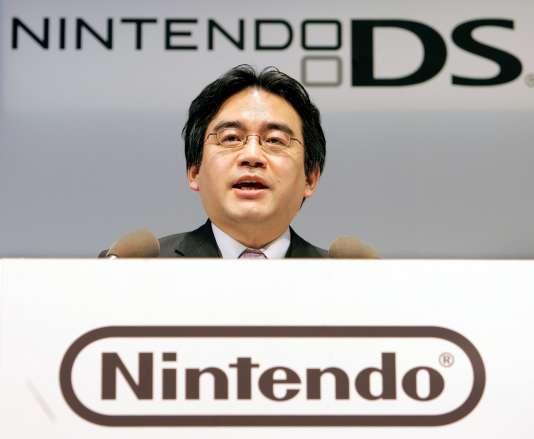 Satoru Iwata le 15 February 2006.