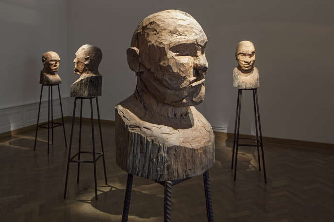 Des sculptures de bois présentées à l'exposition