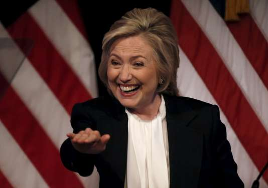 Hillary Clinton, le 13 juillet à New York.