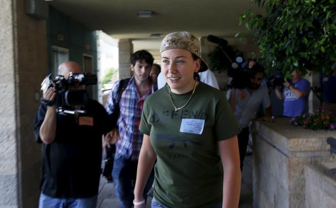 Gill Rosenberg, à la Knesset, le 13 juillet.
