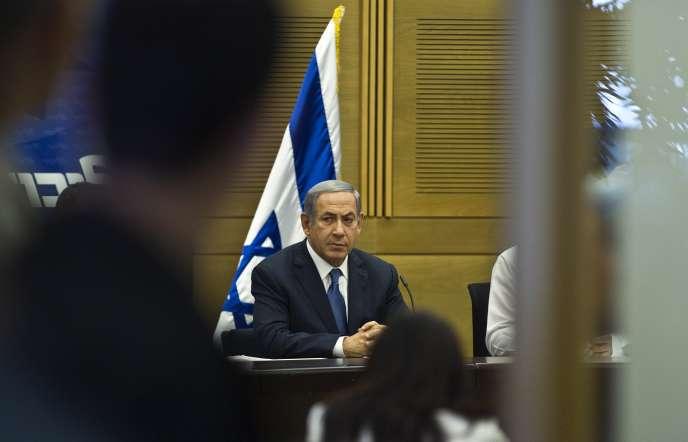 Le premier ministre israélien, Benyamin Nétanyahou, à Jérusalem, le 13 juillet.