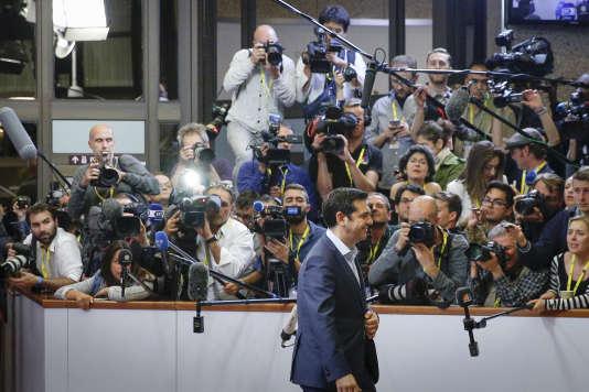 Alexis Tsipras, le 13 juillet.