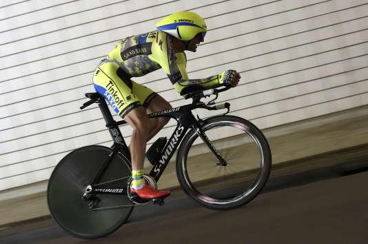 Ivan Basso lors de la première étape du Tour de France, le 4 juillet à Utrecht.
