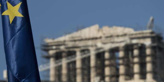 Vue de l'Acropole, en juillet 2015.