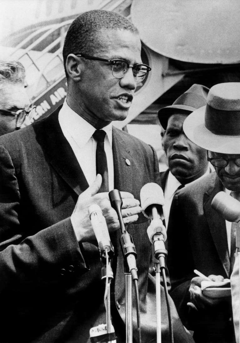 Malcolm X le 9 mai 1963 à New York.