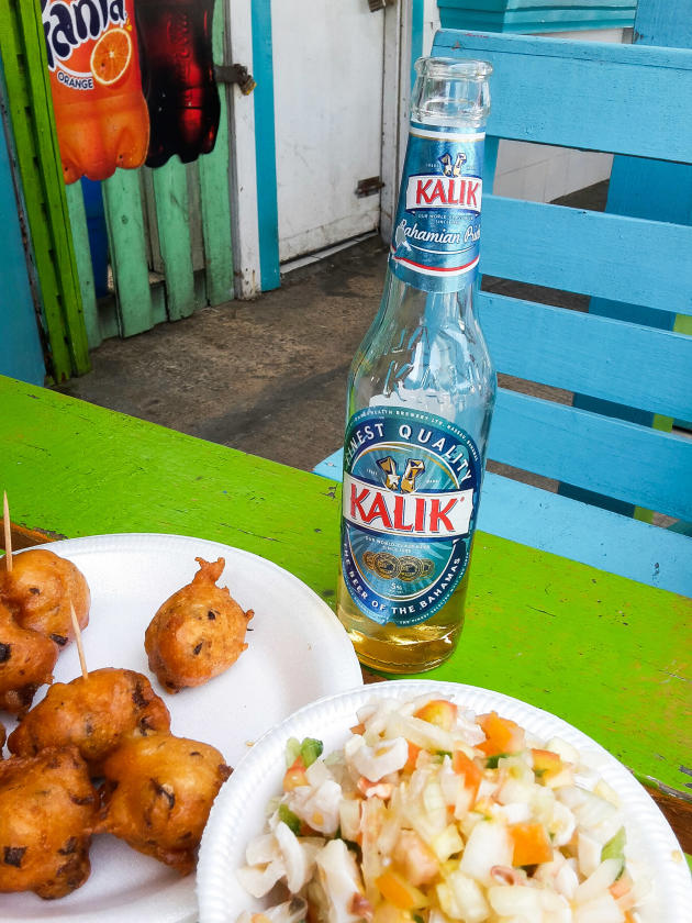 La Kalik, la bière locale de Nassau.