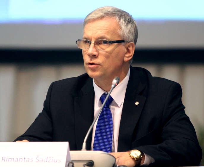 Pour Rimantas Sadzius, ministre lituanien des finances,