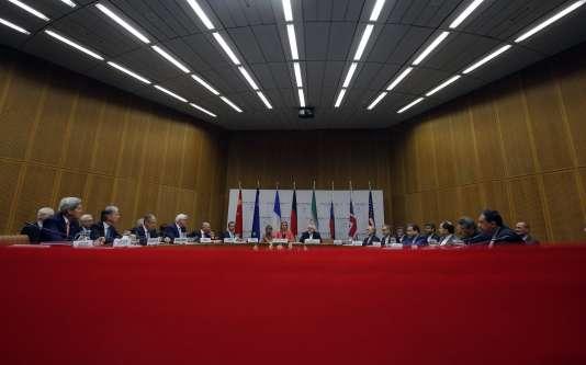 Un accord a été trouvé à Vienne entre les puissances du P5 + 1 et l'Iran sur son programme nucléaire, mardi 14 juillet.