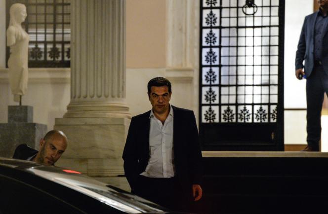 Alexis Tsipras, le 14 juillet à Athènes.