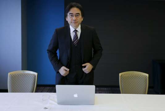Satoru Iwata à Tokyo le 8 mai 2014.