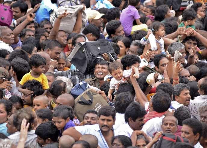 Une bousculade a eu lieu, le 14 juillet, lors d'un festival hindou faisant 27 morts dans l'Andhra Pradesh.