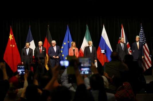 L'accord de Vienne sur le nucléaire iranien prévoit un système de contrôle et de limitations qui va de cinq à vingt-cinq ans.
