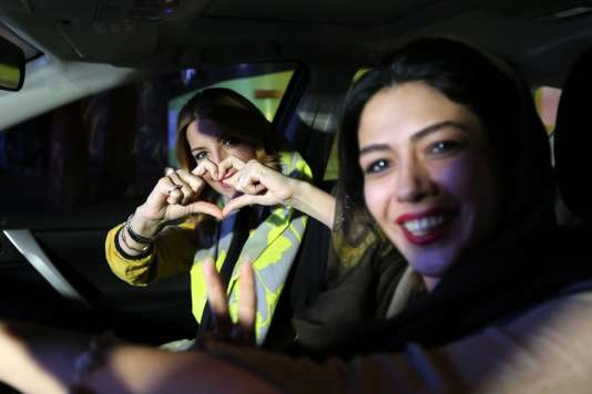 Dans le nord de Téhéran, le 14juillet au soir.