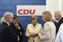 Angela Merkel, lors d'une réunion de la CDU, le 13 juillet à Berlin.