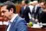 Le premier ministre grec , Alexis Tsipras, le 12 juillet à Bruxelles.